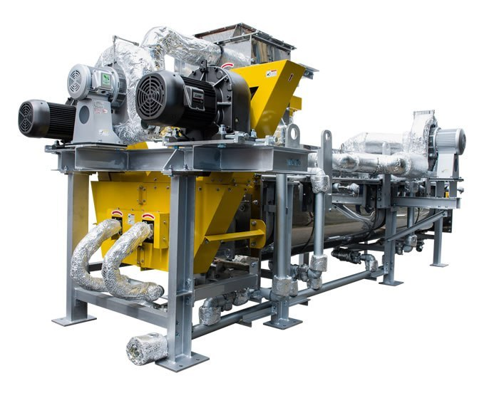 Kenki double screw sludge dryer