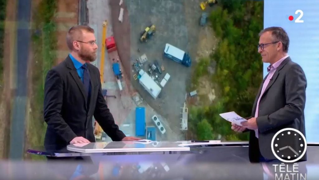 Telematin showcasing ETIA technology
